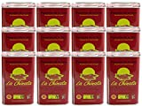 La Chinata Pimenton de la Vera Picante DOP (Hot Smoked Spanish Paprika Powder) Food Service Size (Case of 12 Tins)