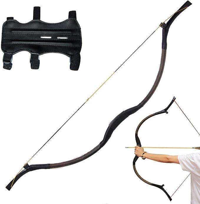 44-69 Handmade Bow String Recurve Traditional Bow Longbow Arrow Archery Hunting