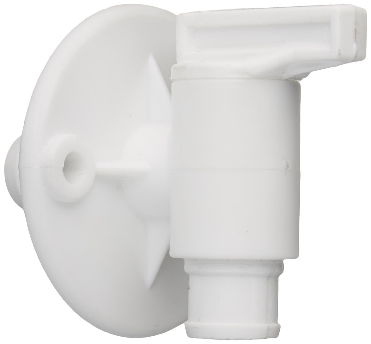 Petersen Molding 18958aw Fresh Water Tank Drain Valve Dual Hose Size To Fit 1//2