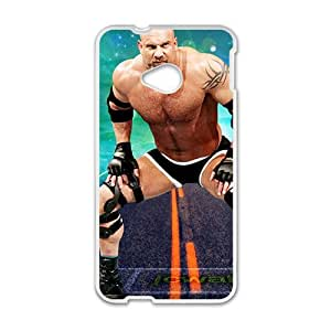 SANLSI WWE Wrestling Fighter White Phone Case for HTC One M7