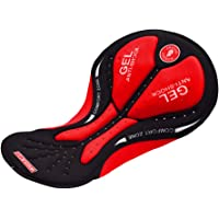 Perfeclan Soft Padded Cushion Gel Seat Pad - for Cycling Clothing Underwear Shorts, MTB Bicycle Shortie, Road Bike Pants…