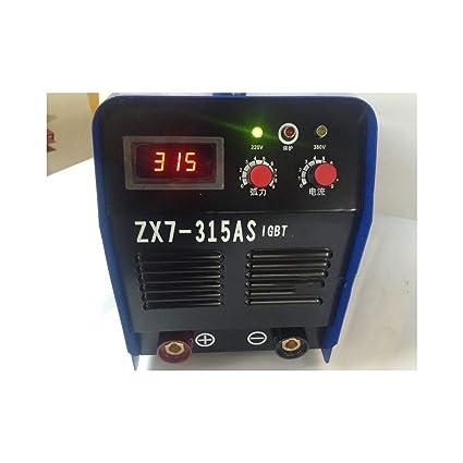 CYDKZMEPA ZX7-315/400 de Doble Voltaje 220 V / 380 V de Doble ...
