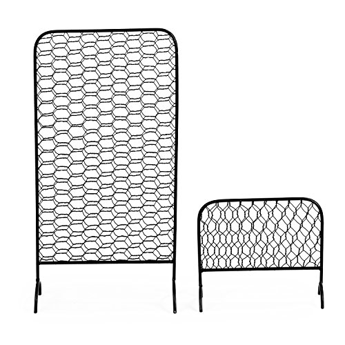 MyGift Metal Chicken Wire Earring Organizer Racks, Set of 2 by MyGift (Image #1)