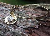 Hand Stamped Sassenach adjustable bracelet - Outlander inspired