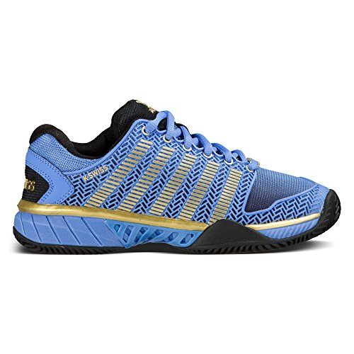 K-Swiss Damen Tennisschuhe Hypercourt Express HB 50th outdoor blau / gelb (956) 39EU