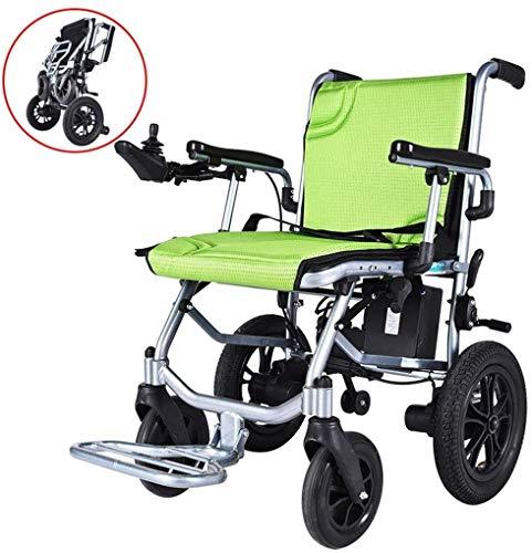 Gpzj 2020 Nuevas sillas de Ruedas electricas motorizadas Plegables, Silla Zinger, Silla de Ruedas electrica Plegable Plegable y compacta, Silla de Ruedas motorizada Potente