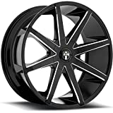 5 lug 22 inch rims - Dub Push 22 Black Milled Wheel / Rim 5x4.5 & 5x120 with a 32mm Offset and a 72.6 Hub Bore. Partnumber S109229552+32