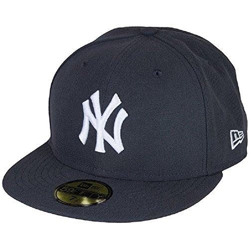 weiß graphit weiß Yankees BASIC New York Cap New MLB schwarz Era 91194 gU1HS