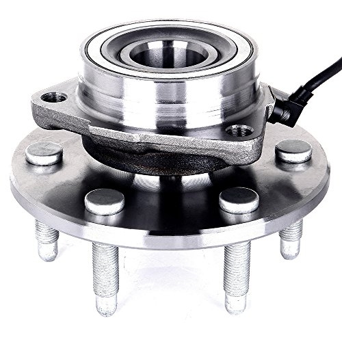 ECCPP 515036 Wheel Bearing and Hub Assembly - Professional Grade Wheel Hub and Bearing Assembly 6 Lug W/ABS 4WD (515036 x - Chevrolet Tahoe Wheels 4wd