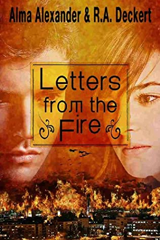 book cover of Letters from the Fire