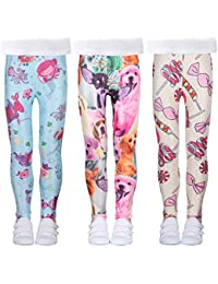 fd182c43378f Girls Stretch Leggings Tights Kids Pants Plain Full Length Children Trousers,  Age 4-13