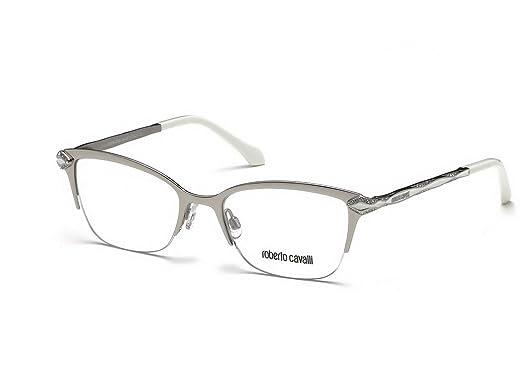 Amazon.com: 100% auténtico Roberto Cavalli anteojos hembra ...