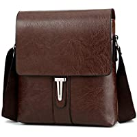 Bag-Age Pu Leather 23 Tan Areo Multifunctional Messenger Bag