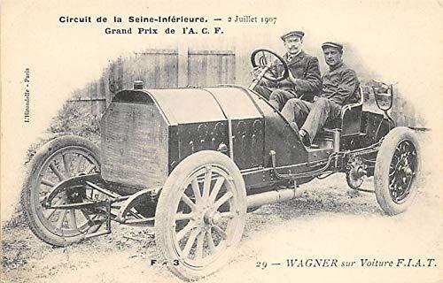 Circuit de la Seine Inferieure Juillet 1907, Grand Prix Auto Racing, Race Car Unused