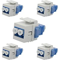 5-Pack Ushanlin LC Fiber Optic Adapter