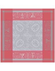Garnier Thiebaut 26500 Green Sweet Stain Resistant Cotton Flanerie Table Cloth 69 By 100 Inch Corail Made In France