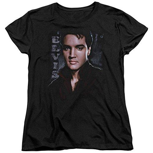 Womens: Elvis Presley - Tough Ladies T-Shirt Size L