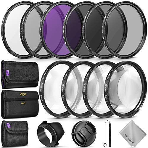 52MM Complete Lens Filter Accessory Kit (UV,