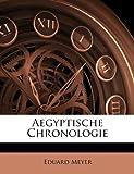 Aegyptische Chronologie, Eduard Meyer, 1144180767