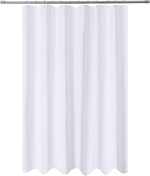 Amazon.com: N&Y HOME Extra Long Shower Curtain Liner Fabric 72 x