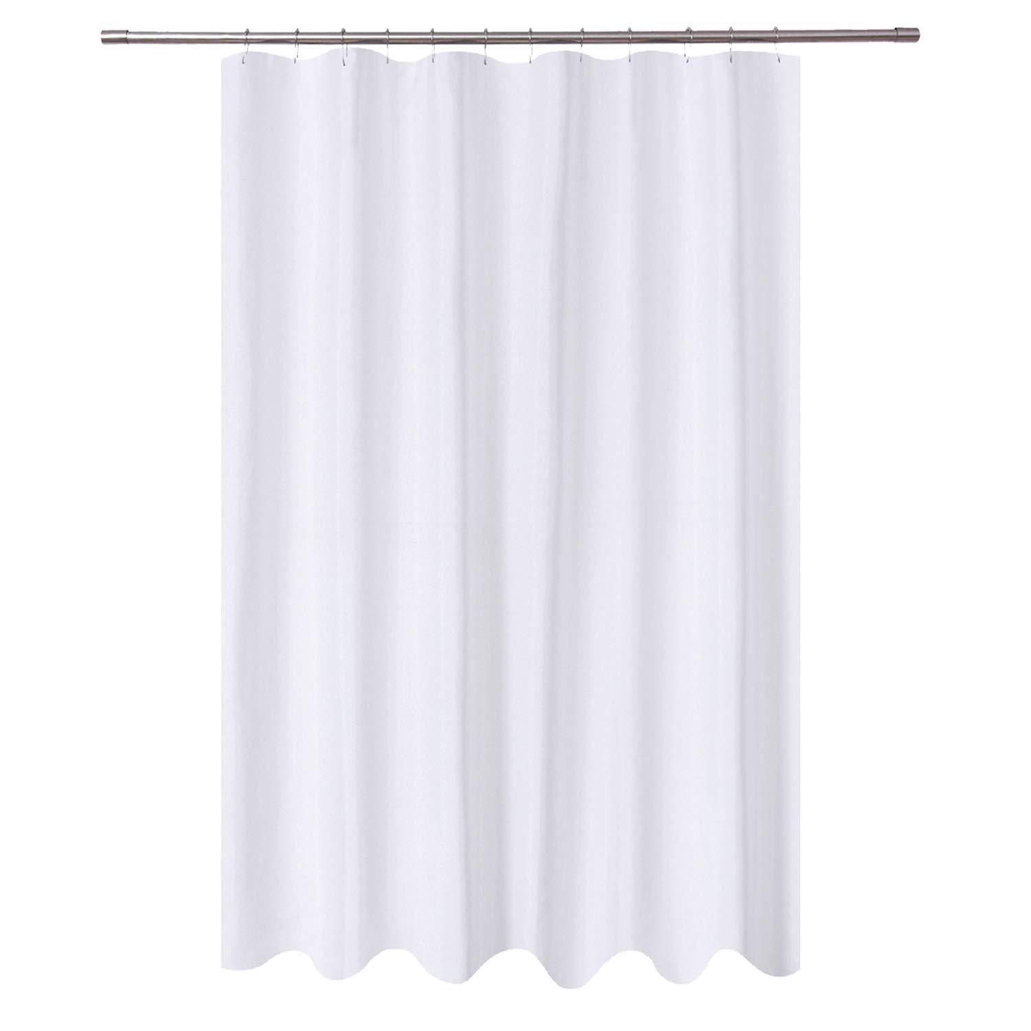 N Y Home Extra Long Shower Curtain Liner Fabric 72 X 96 Inch