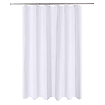 Amazon NY HOME Extra Long Shower Curtain Liner Fabric