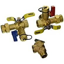 Webstone 44043PR 3/4-Inch IPS Isolator EXP E2 Tankless Water Heater Service Valve Kit with Clean Brass Construction