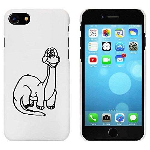 Blanc 'Dinosaure' étui / housse pour iPhone 7 (MC00058856)