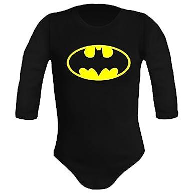 Body bebé unisex Batman. Super héroes. Regalo original. Body bebé  divertido. Manga 13c2e405658