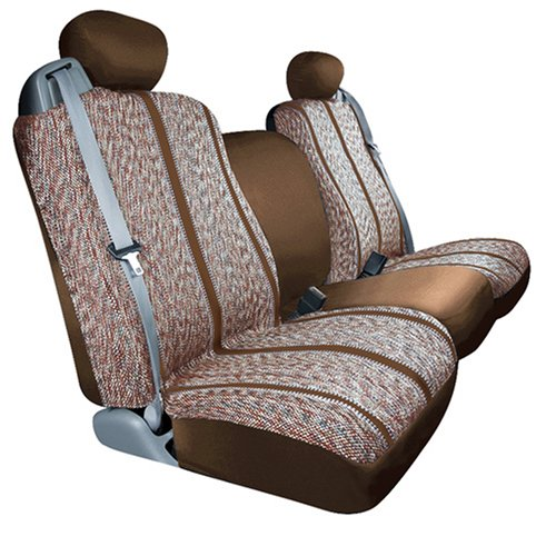 Saddleman Custom Made Front/Rear Bucket Seat Covers - Saddle