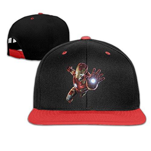 HAAUT Kids Iron Man Hip-Hop Baseball - Swim Ironman Cap