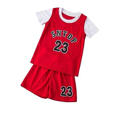 AIALTS Conjunto Jersey Baloncesto para Niños Niño Niña ...