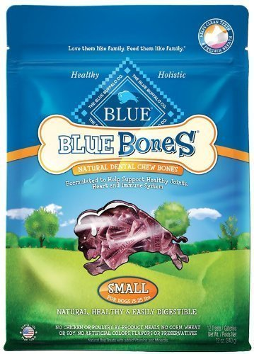 Blue Buffalo Blue Bones Dental Treats, Small (Pack of 2, 12-oz. bags)