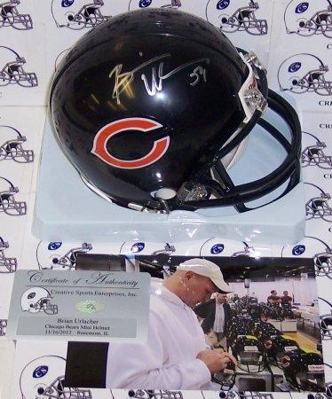 Dick Butkus Autographed Hand Signed Bears 2-Bar Mini Helmet - PSA/DNA