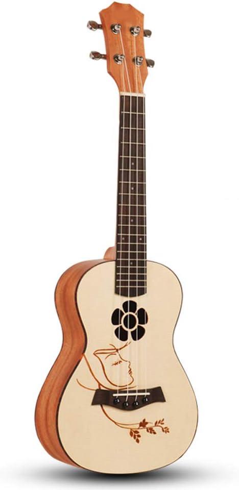 ZQ Ukulele Pequeña Guitarra Principiante Individual Junta ...