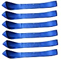 Cartman Soft Loop Motorcycle Tie Down Straps - 10,000lb Max Breaking Strength, Heavy Duty Tiedown Loops for Secure and Confident Trailering of Motorcycles, Dirtbikes, ATV, UTV (Blue 6-Pack)
