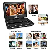UEME Portable DVD Player with Car Headrest Mount