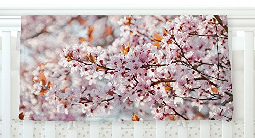 KESS InHouse Iris Lehnhardt Flowering Plum Tree Pink Blossoms Fleece Baby Blanket 40 x 30 [並行輸入品]   B077ZR21SX
