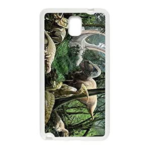 Forest Creative Creative Dinosaurs Custom Protective Hard Phone Cae For Samsung Galaxy Note3