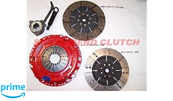Amazon.com: South Bend Clutch K70287-HD-OFE-DMF Clutch Kit (DXD Racing 00-05 Audi A3 1.8T Stg 2 Endur): Automotive