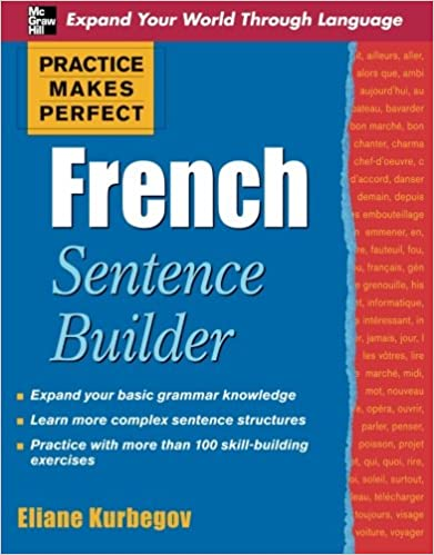 Amazon.com: Practice Makes Perfect French Sentence Builder ...