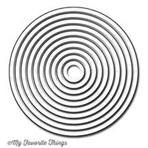 - My Favorite Things Die-Namics STAX Dies Set, .5-Inch to 4-Inch, Circle #2