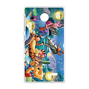 New Style Custom Picture Tiger & Pooh Design Best Seller High Quality Phone Case For Nokia X