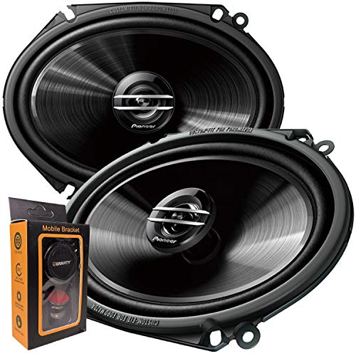 Pair of Pioneer TS-G6820S 500W Max (80W Rms) 6