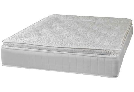 Furniture Expressions Sweet Dreams Grand Bobina Abierta colchón, Blanco, tamaño Muy Grande (Super