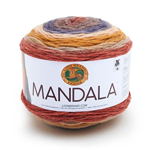 Lion Brand Yarn 525-214 Mandala Yarn, Centaur by Lion Brand Yarn