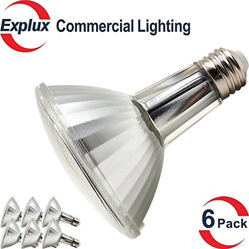 Commercial lighting full glass 115w dimmable led par30 long neck explux commercial lighting full glass 115w dimmable led par30 long neck light bulb indooroutdoor par30l aloadofball Choice Image