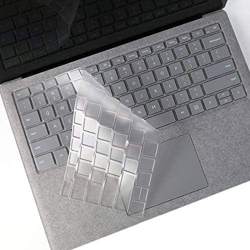 KANEED Laptop TPU Waterproof Dustproof Transparent Keyboard Protective Film for Microsoft Surface Go 10 inch Keyboard Protector