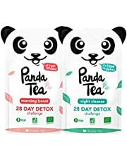 Panda Tea - Organic Detox Tea - 56 count for 28 days