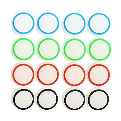 CTYRZCH-8-Pairs16-PCS-Replacement-Silicone-Analog-Controller-Joystick-Luminous-Thumb-Stick-Grips-Caps-Cover-for-PS4-PS3-Xbox-One360-Wireless-Controllers